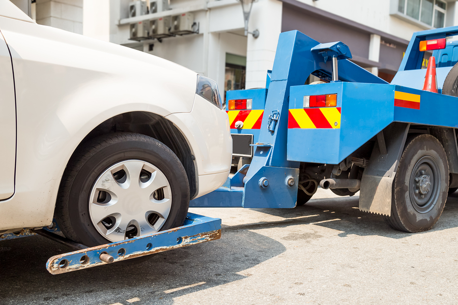 This is a picture of a towing services.